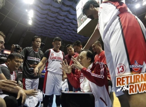 PBA Legends Foundation received P3-M from the recent UNTV Return of the Rivals Game