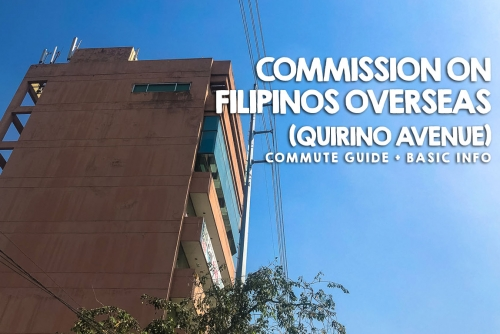 How to go to Commission on Filipinos Overseas – Manila