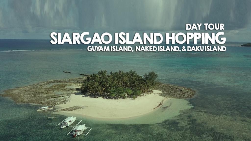 Day Tour: Siargao Island Hopping Tour – Guyam Island,  Naked Island, and Daku Island