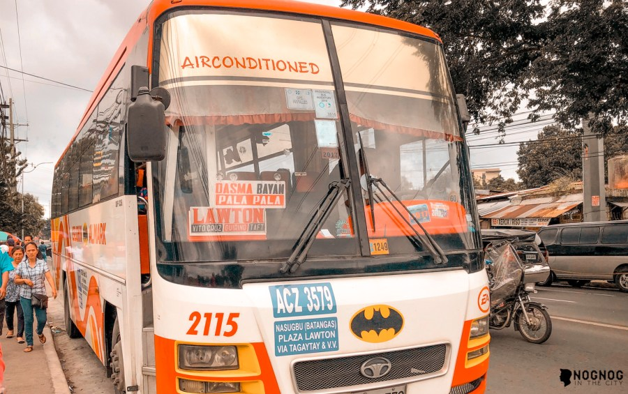 Commute Guide How To Go To Tagaytay Via Dltb Bus To