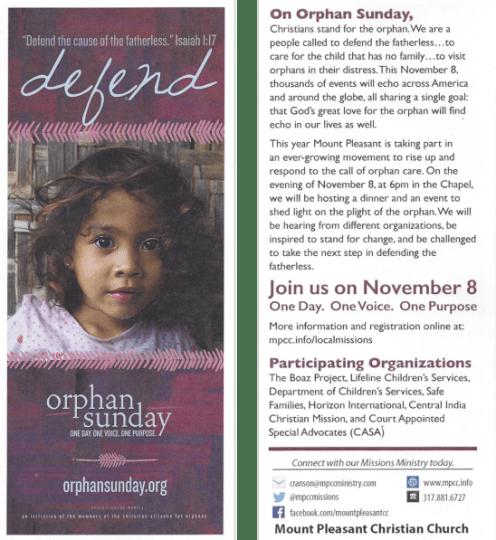 orphansunday