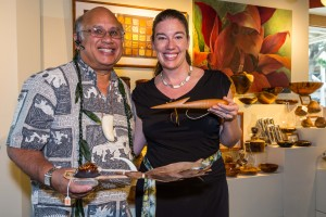 Keith Maile and Suzanne of Hawaii Literacy