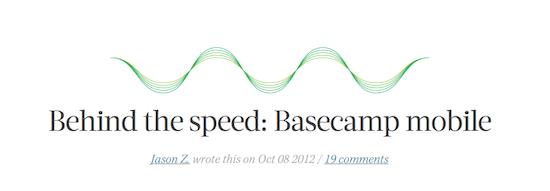 Basecamp Mobile