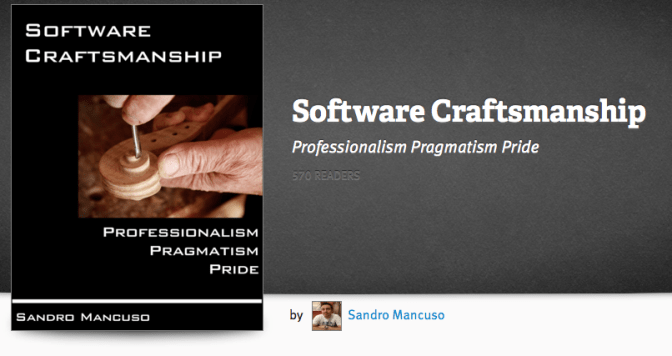 Software Craftsmanship by Sandro Mancuso – book review