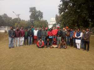 Preparations for the protest rally of Amritsar on January 22 in district and education minister's constituency