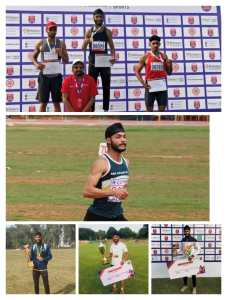 Shanel level athlete Mandeep Panesar returned three gold and one silver medal to Reliance in support of Kisan Sangharsh