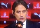 """Napoli-Lazio, Inzaghi: """"Abbiamo fatto una grande partita, meritavamo un altro risultato"""""""