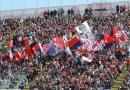 Cagliari-Lazio: la protesta dei tifosi sardi