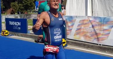 S.S. Lazio Triathlon Argento ai Mondiali di Losanna