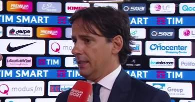 """Lazio-Sampdoria, Inzaghi: """"E' un grande orgoglio aver raggiunto Maestrelli"""""""