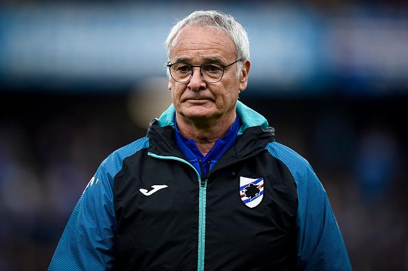 """Lazio-Sampdoria, Ranieri: """"La Lazio è veramente tanta roba"""""""