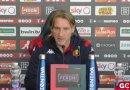 """Genoa-Lazio, Davide Nicola in conferenza stampa: """"Partita da stress-test. Affrontiamo un avversario molto forte"""""""
