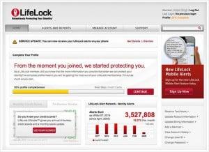 lifelock homepage