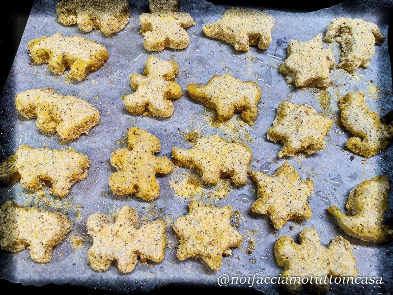 crocchette di pesce e patate al forno
