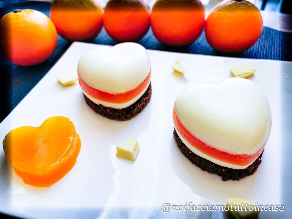 Panna Cotta Cioccolato Bianco e Arancia