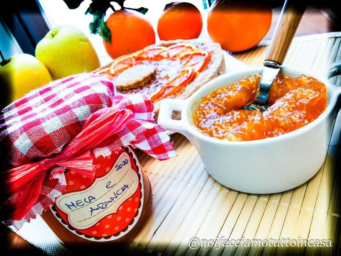Marmellata di Mele Arance e Cannella