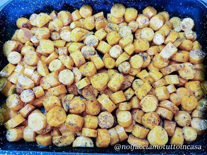 carote al forno leggere e saporite