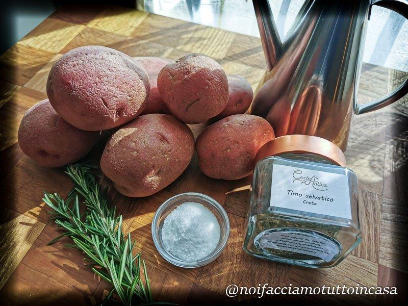 patate al forno croccanti perfette