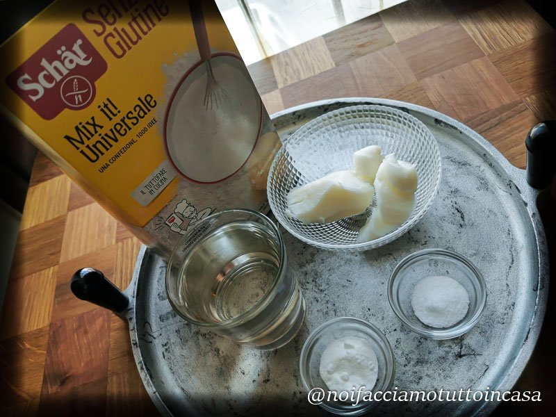 Piadina senza glutine ricetta facile