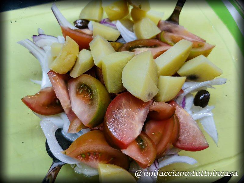 insalata di polpo con patate e olive taggiasche