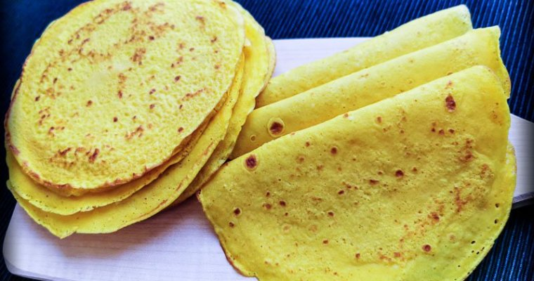 Crepes Senza Glutine alla Curcuma