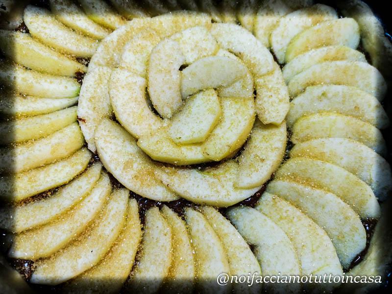 Crostata Gluten Free Cioccolato Fondente e Mele
