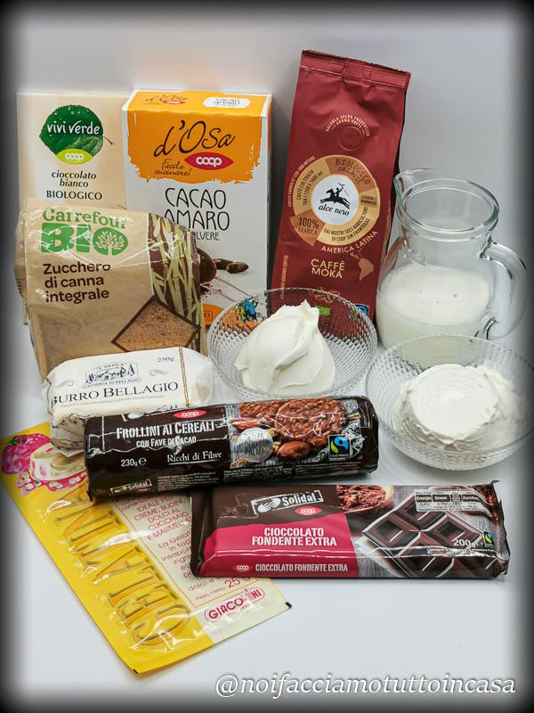 CheeseCake Tricolore Cioccolato e Caffè Super Golosa