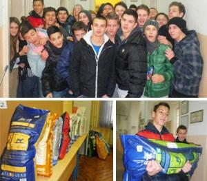 Učenici Prve ekonomske škole daruju štićenike Noine arke