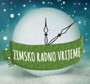 Zimsko radno vrijeme od 8.10.2013.