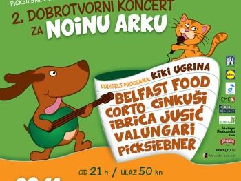 Picksiebner vam predstavlja: 2. dobrotvorni koncert za Noinu arku