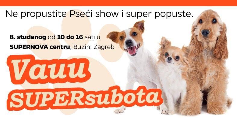 VAUU SUPERsubota u centru SUPERNOVA, Zagreb, Buzin