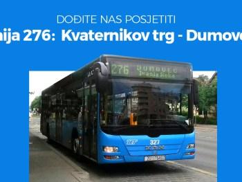 Sad još lakše možete doći do nas - autobusom 🚌