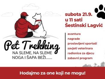 Ne propustite prvi hrvatski Pet Trekking!