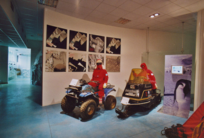 museo-antartide-trieste-motoslitte