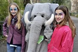 bioparco-Roma-elefante-facepainting