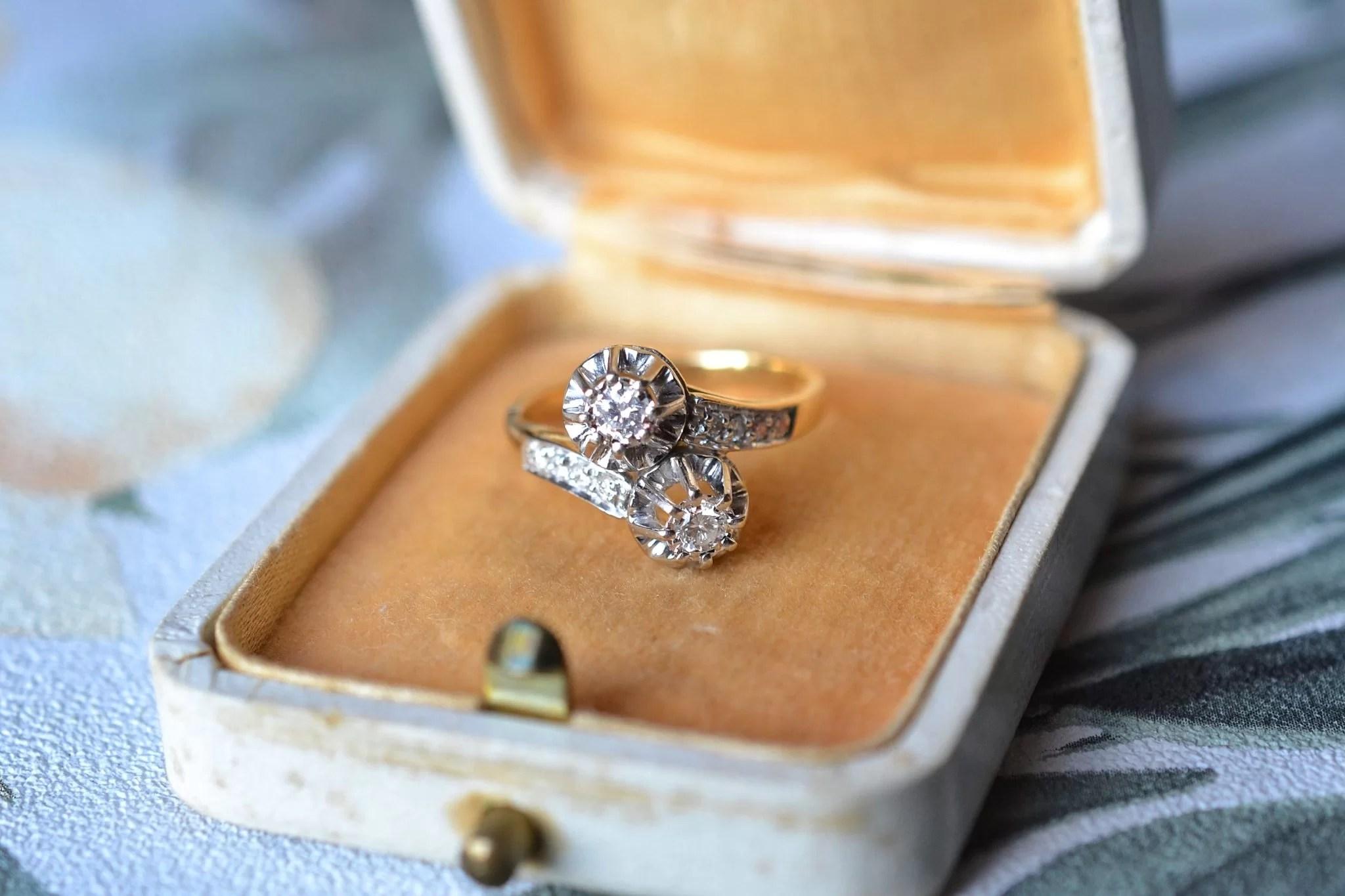 Bague Toi & Moi Diamants