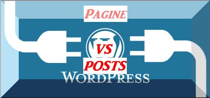 Pagina posts articoli categorie e tag differenze