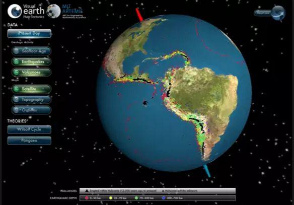 Visual Earth di Aspnet