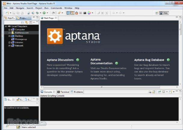 Editor Php Aptana