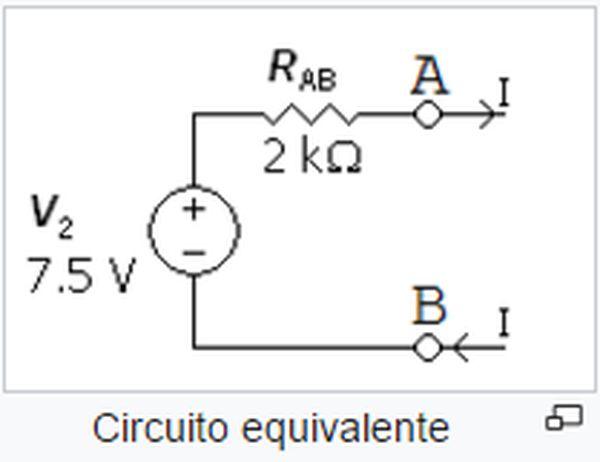 Teorema di Thevenin Circuito Equivalente