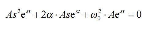 Circuito RLC equazioni differenziali