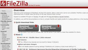 Filezilla WooCommerce come caricare il file di traduzione in Italiano nel server remoto
