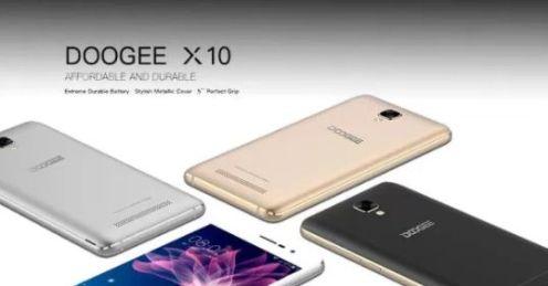 Scheda Tecnica cellulare Doogee x10