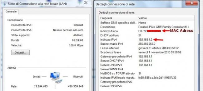 Come trovare Mac Address su Windows