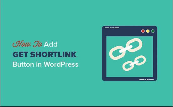 Shortlink  e WordPress come ottenere un url breve