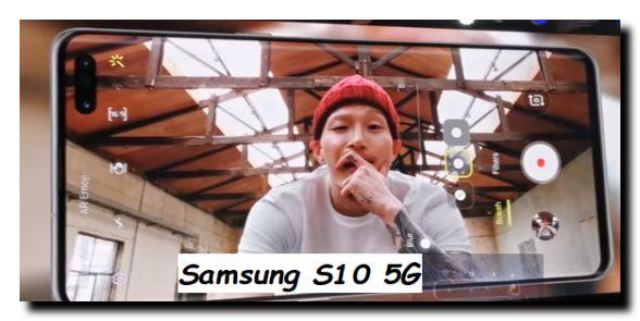 Samsung S10 5G cellulare con la nuova tecnologia 5G