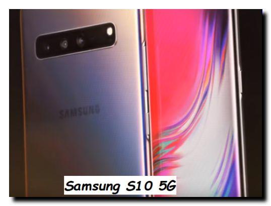 Smartphone Cellulare Samsung S10 5G