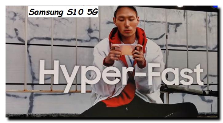 Cellulare Samsung con la rete 5G