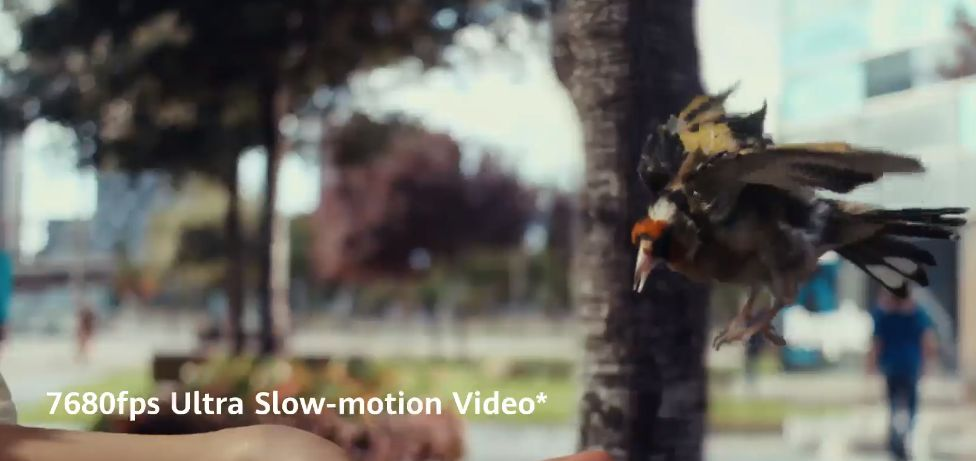Cellulare Cinese Ultra Slow Motion Video