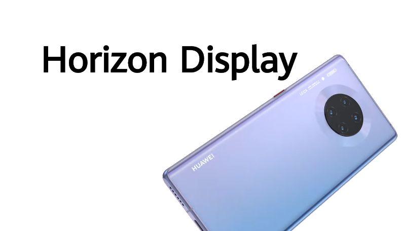 Cellulare Cinese Huawei Mate 30 Pro Horizon display